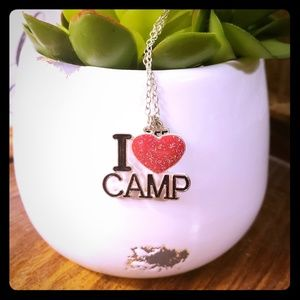 "Other - ""I ❤ Camp"" BFF Necklace"